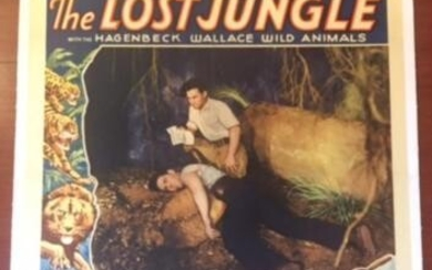 The Lost Jungle - Chapter 9 (1934) US 1SH Movie Poster