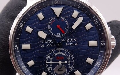 Ulysse Nardin - Maxi Marine Chronometer 1846 Blue Wave Limited Edition - Ref. 263-68 - Unisex - 2007