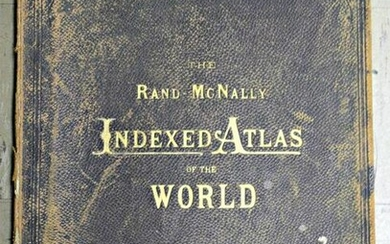 United States. Rand, McNally & Co.'S Indexed Atlas of