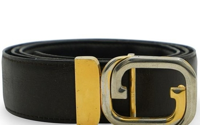 Vintage Gucci Leather Belt
