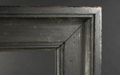 19th Century English School. A Black Painted Frame.