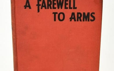 1st Edition Autographed Hemingway Farewell To Arms