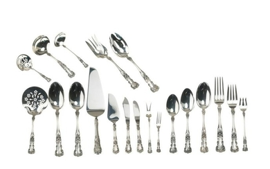 "A Gorham ""Buttercup"" sterling silver flatware service"