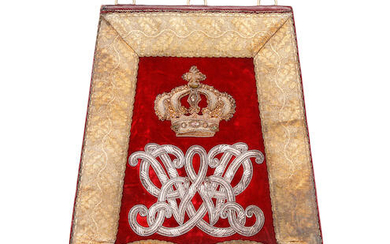 A Very Fine Officer's Full Dress Sabretache To The Surrey Yeomanry, Circa 1831-37