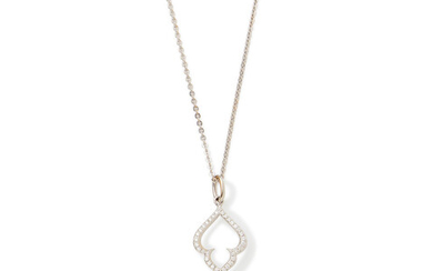 """A cultured pearl and diamond pendant """"Palais Russian Spirit"""", by Paspaley"""