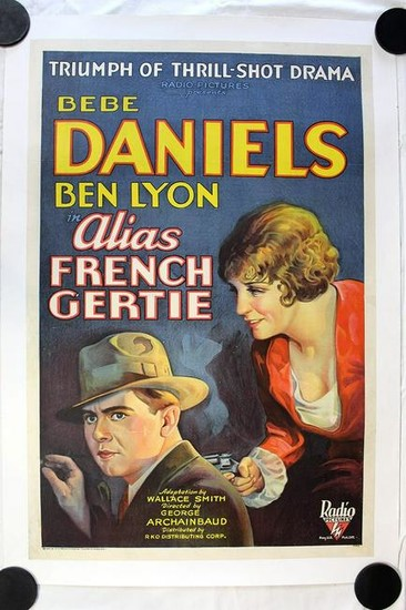 Alias French Gertie (USA, 1930) One Sheet Movie Poster