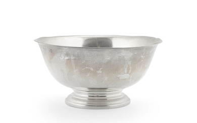 An American sterling silver bowl