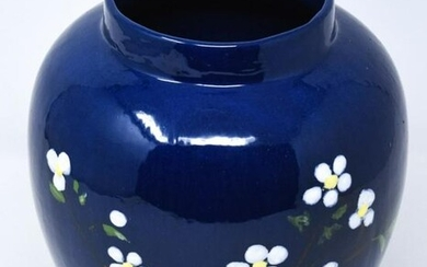 Chinese Hand Painted Porcelain Ginger Jar Vase