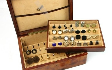 Collection of Sterling and Gold Fill Cufflinks