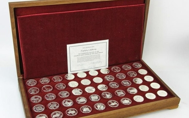 Franklin Mint State of Union Silver Medals, Gov
