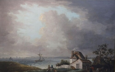George Morland (1763-1804)oil on canvasWeymouth bay with a d...