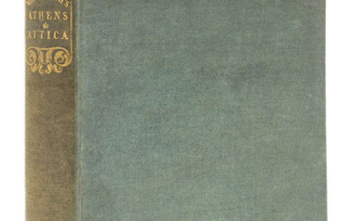 Greece.- Wordsworth (Christopher) Athens and Attica: Journal of a Residence There, first edition, 1836.