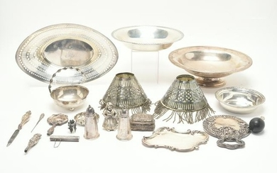 Group of Miscellaneous Sterling and Other Silver Metal