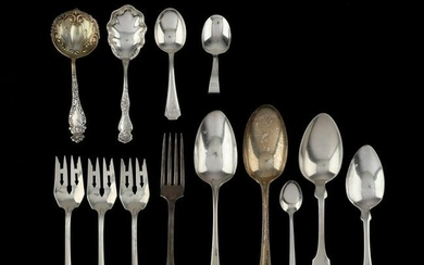 Grouping of Assorted Sterling Silver Flatware