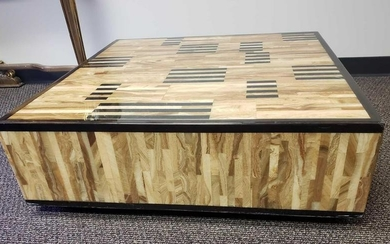 Italian Made, Low Mid-Century Style Coffee Table