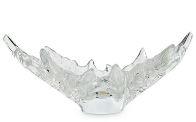 "Lalique Crystal ""Champs-Elysees"" Bowl"