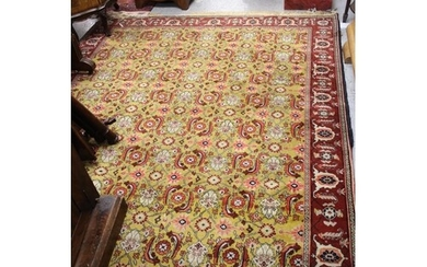 Mid 20th Century North East Persian rug with an all-over Her...