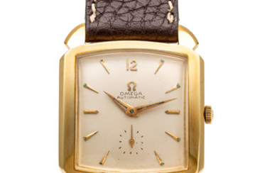 OMEGA, REF. 3950, AUTOMATIC, YELLOW GOLD