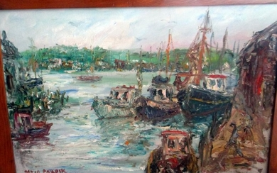 Oil Painting on Canvas by David Pollock Gloucester