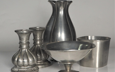 PARTY, pewter, 5 parts, Just Andersen, Denmark.