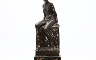 PROBABLY FRENCH SCHOOL, EARLY 20TH CENTURY. Female nude.