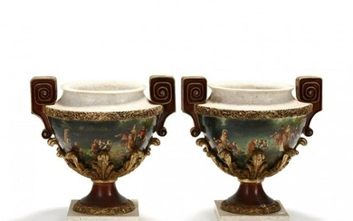 Pair of Neo-Classical Style Urns