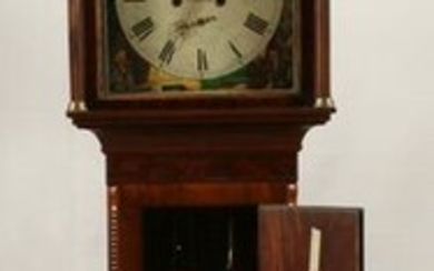 SCOTTISH MAHOGANY TALL CASE CLOCK, C.1840