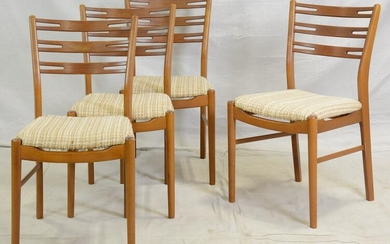 Set of 4 Mid Century Modern Dining Chairs