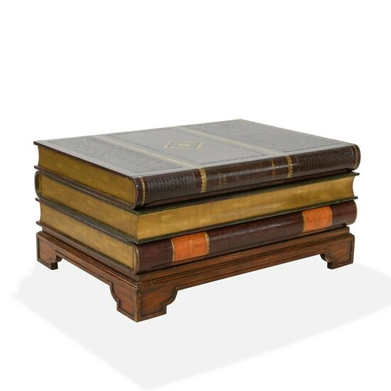 Thomasville - Faux Book Coffee Table