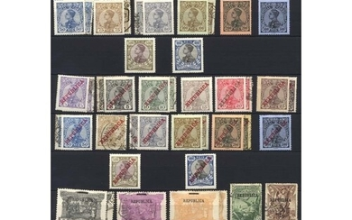 Valuable collection in large stock book, all periods with ea...