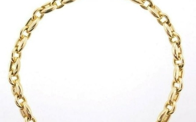 18k Yellow Gold Cartier Chain Bracelet