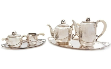 Holger Rasmussen Coffee and Tea Service, c.
