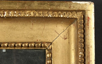 "A 19th Century Moulded and Composition Frame. 16"" x"