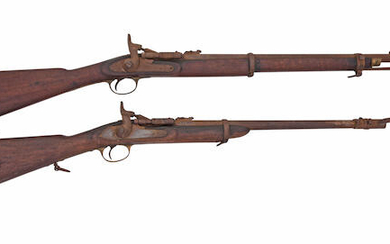 A .577 Snider Mark II Artillery Carbine, And A .577 Snider Mark II Cavalry Carbine, The First No. 212, Dated 1863, The Second By The British Small Arms Company, No. D140, Dated 1870