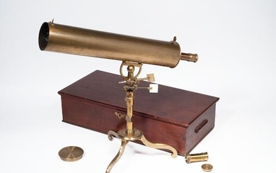 A James SHORT 3 1/4 Inch Reflecting Telescope on stand, circa 1760,, English/Scottish, circa 1760