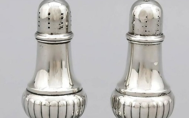 A pair of salt and pepper