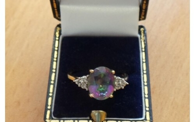 Mystic Topaz Dress Ring