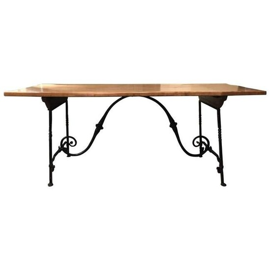 Baroque Style Refectory Table