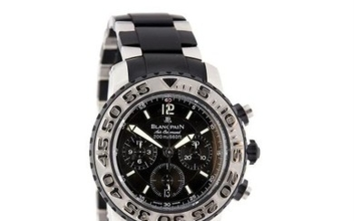 Blancpain, Air Command Concept 2000, a gentleman's stainless steel bracelet watch