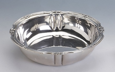 Bowl, France approx. 1900, 800 silver ,...