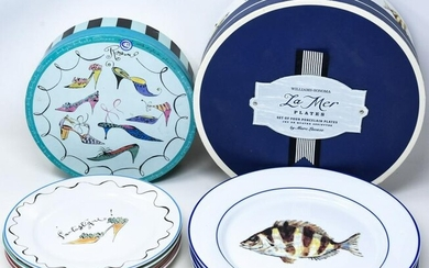 Boxed Sets Serving Dishes - Fish & Shoes Designs