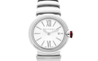 Bvlgari | LVCEA, A Stainless Steel Bracelet Watch with Date, Circa 2019