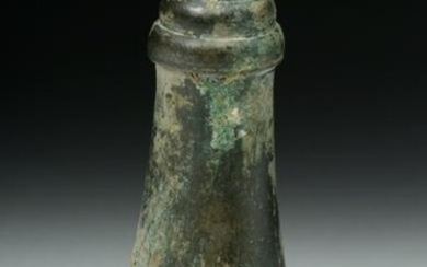 Cambodian Khmer Bronze Lime Container