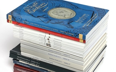 Collection auction catalogues, incl. Kaaber's coll., Knappe/Gray of Tranquebar coins. (26)