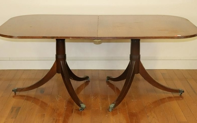 Early 20thC Regency Style Dining Table