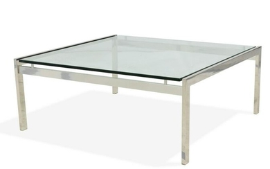 Floating Glass Coffee Table