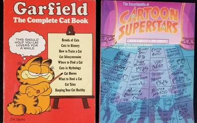 Garfield The Complete Cat Book by Shep Steneman and The