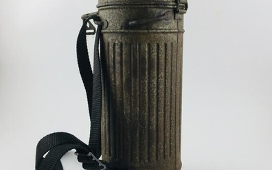 German military case for gas mask