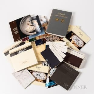 Glashutte Original Watch Co. Reference Books and Brochures