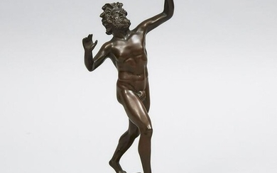 Italian Grand Tour Patinated Bronze Model of The
